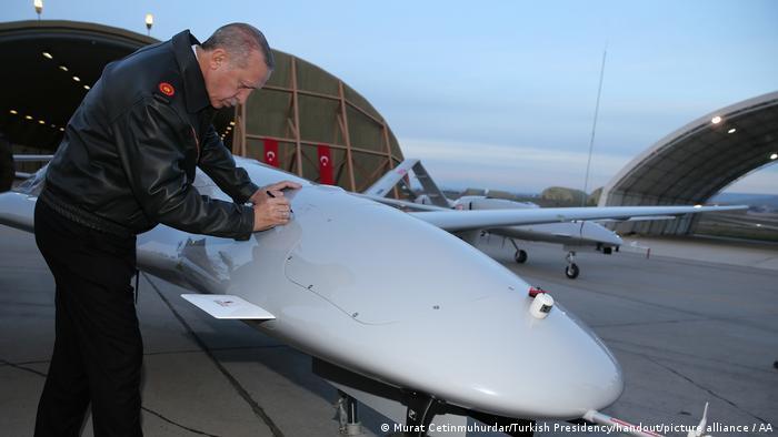Türkei I Erdogan I Drohne