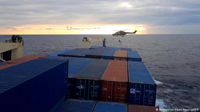 Kasım ayında Alman askerlerin Türk gemisine yaptığı operasyon iki ülke arasında krize yol açmıştı.