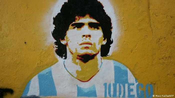 Grafiti depicting Diego Maradona