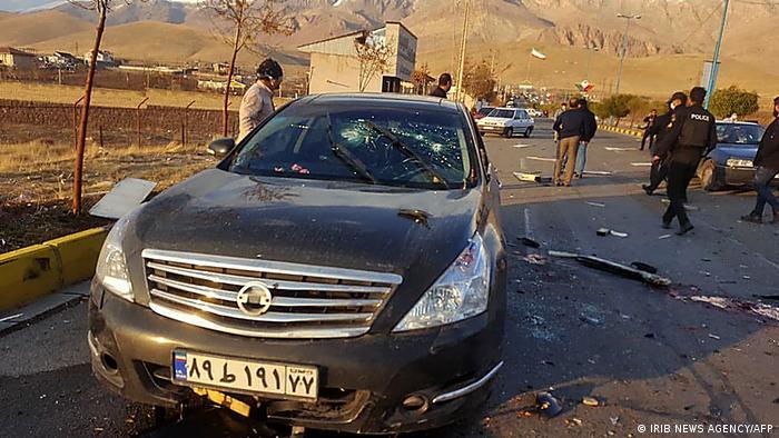 Iran Anschlag gegen Mohsen Fakhrizadeh