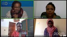 Screenshot I Socila Media Veranstaltung I #PasSansElles, les femmes prennent la parole