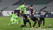 Fußball: Bundesliga I VfL Wolfsburg - Werder Bremen   Tor: 3:2