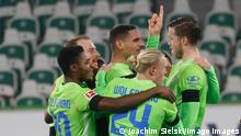 Fußball: Bundesliga I VfL Wolfsburg - Werder Bremen | Tor: 4:3