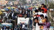 Indien Neu Delhi | Bauern Protest Landwirtschaft Gesetz