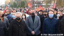Nord-Mazedonien Skopje | Proteste gegen Regierung