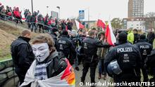 Coronavirus | Proteste gegen Maßnahmen | Frankfurt Oder und Slubice