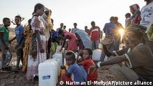 Tigray-Konflikt | Sudan Flüchltingscamp Umm Rakouba