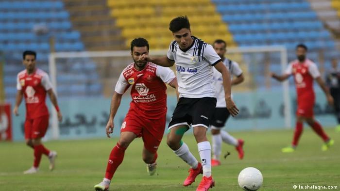 Premiere League Iran - Persepolis gegen Naft Masjed