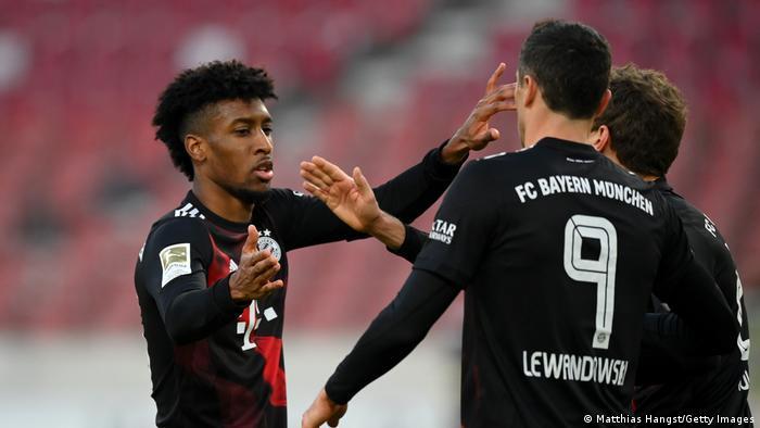 Fußball Bundesliga VfB Stuttgart v Bayern München   Tor 1:1 Coman