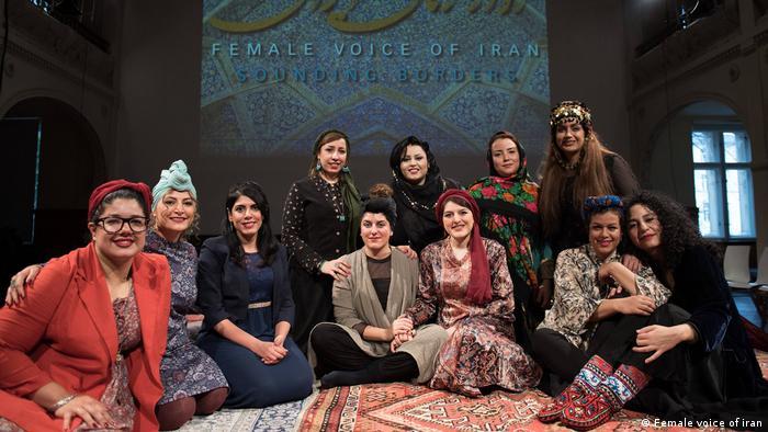 فستیوال آواز زنان ایران در برلین در سال ۲۰۱۸