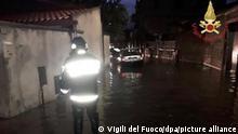 Italien Schwere Unwetter auf Sardinien