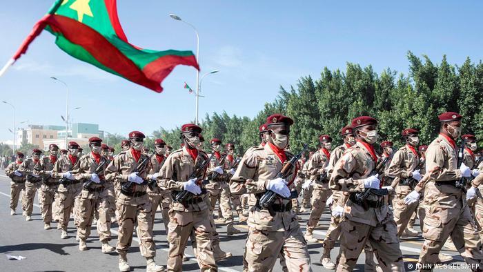 Défilé à Nouakchott ce 28 novembre