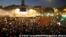 Frankreich Proteste gegen Polizeigewalt in Paris