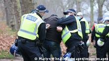 Coronavirus London | Proteste gegen Schutzmaßnahmen