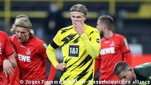 Fußball Bundesliga Borussia Dortmund v 1. FC Köln Fußball: Fussball: 1.Bundesliga Saison 2020/21 BVB , Borussia Dortmund - 1.FC Köln , Koeln