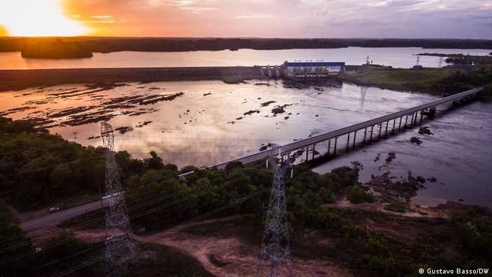 A usina hidrelétrica de Ferreira Gomes