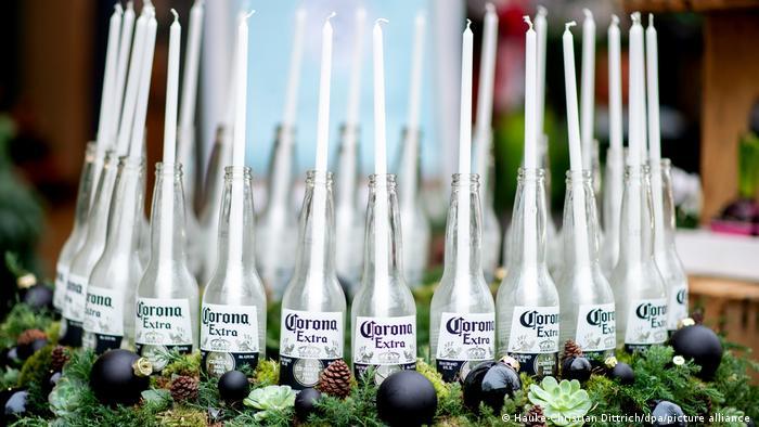 BDTD Adventszeit Coronakrise Adventskranz Corona Extra