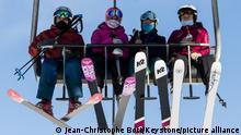 Schweizer Alpen Ski Lift