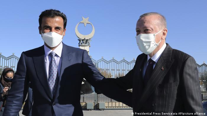 Türkei Ankara, Al-Thani bei Erdogan