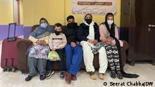Indien Afghanische Sikh-Flüchtlinge