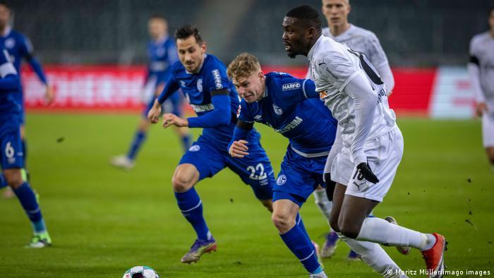 Fußball Bundesliga Borussia Mönchengladbach - FC Schalke