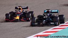 Formel 1 | Grand Prix Bahrain | Hamilton und Verstappen