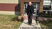 USA Joe Biden und sein Schäferhund Major
