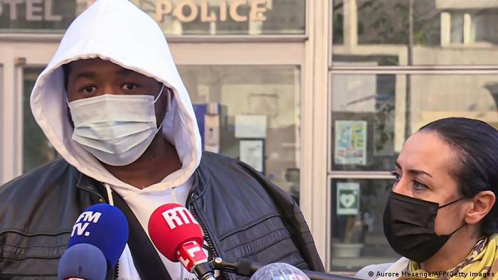 Frankreich Polizeigewalt Michel Zecler