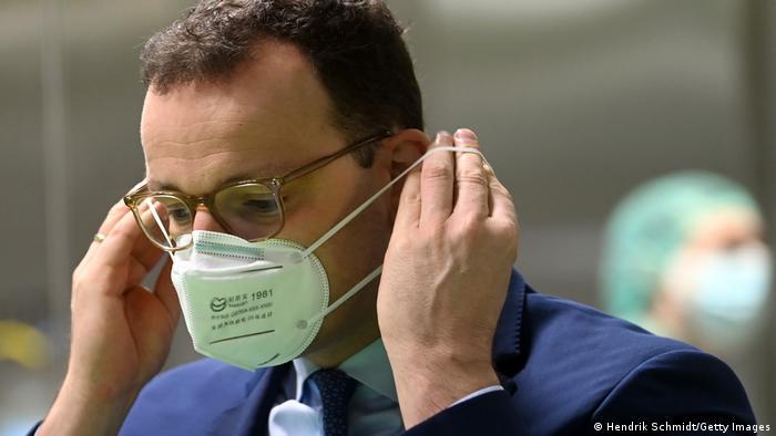Deutschland Gesundheitsreserve | Gesundheitsminister Jens Spahn