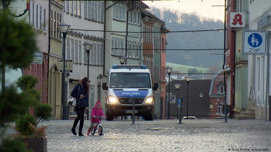 Ameaças de morte na cidade alemã com recorde de covid-19