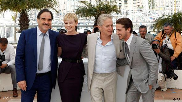 Filmfestival Cannes Wall Street Flash-Galerie