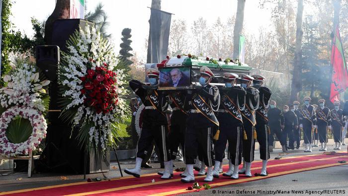 Beisetzung des getöteten iranischen Atomforschers Mohsen Fachrisadeh