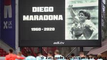 Sky Bet Championship | Nottingham Forest v Swansea City - Diego Maradona Schweigeminute