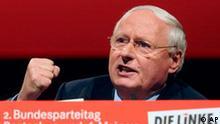 Parteitag Die Linke Abschied Lafontaine