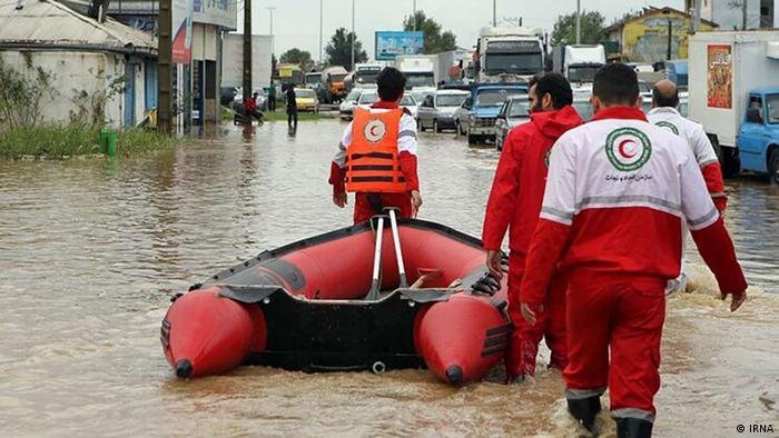 Iran Überschwemmungen