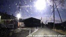 Japan Tokushima  Meteor