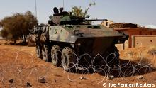 Mali Gao 2013 |Gepanzertes Fahrzeug bei französischer Militärbasis