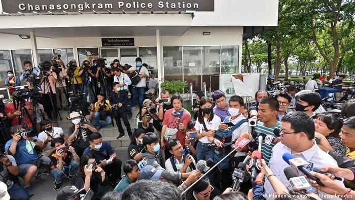 Thailand Bangkok |Protestbewegung |Panupong Mike Jadnok