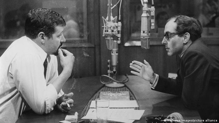 Jean-Luc Godard |französisch-schweizerischer Filmregisseur | im Interview mit Radio Luxembourg