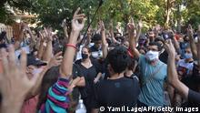 Kuba | Coronavirus | Proteste vor Kulturministerium in Havanna