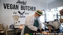 Großbritannien London | Rudy's Vegan Butcher | vegane Metzgerei