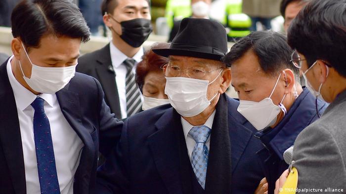Former South Korean President Chun Doo-Hwan