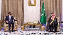 Jured Kushner besucht saudischen Kronprinzen in Riad