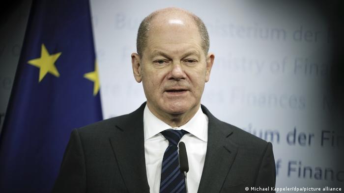 Olaf Scholz, ministro de Finanzas.
