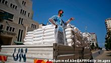 Palästina UN Nothilfe