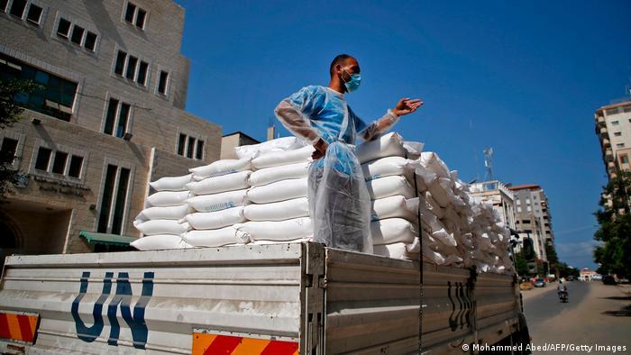 Distribusi bantuan PBB