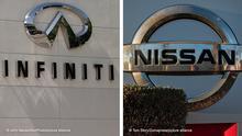 Bildkombo Infiniti und Nissan