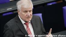 Deutschland Bundestag Host Seehofer