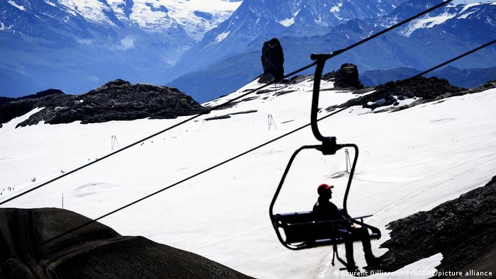 Swiss ski lift