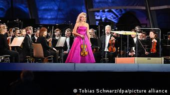 Open-Air-Konzert der Staatsoper Berlin Anne-Sophie Mutter